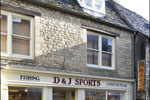 DJ Sports Painted Shop Front